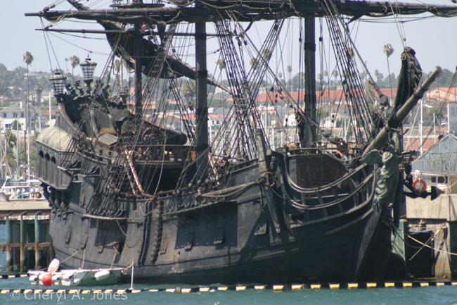 black pearl in san pedro harbor the dis disney